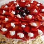 Çilekli Pasta Tarifi ve Yapılışı