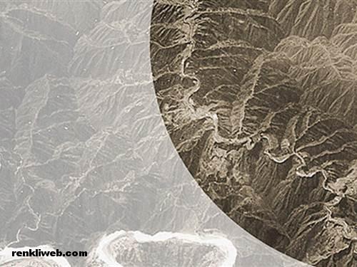 NASA tarafından çekilen Çin Seddi fotoğrafı