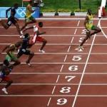 2009 Berlin Atletizm Şampiyonası Erkekler 100 Metre Birincisi Usain Bolt Dünya Rekorunu Kırdı
