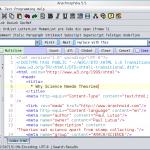 Arachnophilia Web Page Editor 5.4 2411 İndir