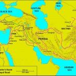 Baharat Yolu, Kral Yolu ve İpek Yolu Haritası ve Güzegahı