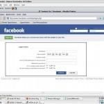 Facebook Mail Gönder Kodu Ekleme