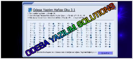 Odesa Hafıza Oku 3.1 Türkçe İndir