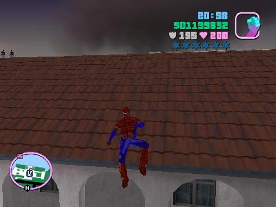 GTA Vice City örümcek adam