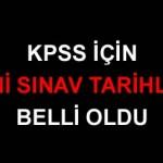 2010 KPSS Lisans Eğitim Bilimleri Sınavı Tarihi Belli Oldu