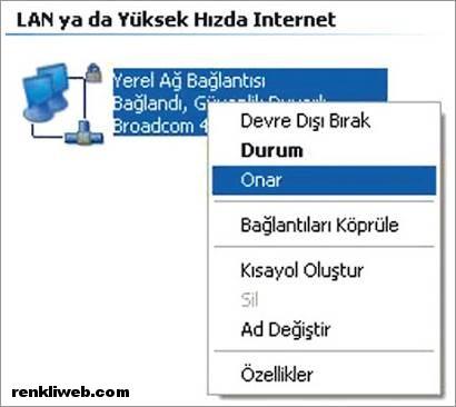 DNS Ayarları 5