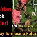 Arda Galatasaray Formasına Küfür Ediyor (Video)