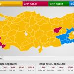 2011 Seçimleri CHP Milletvekili Sayısı