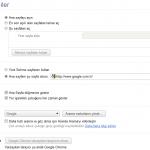 Google Chrome'da Google Ana Sayfa Nasıl Yapılır? (Resimli Anlatım)
