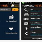 Android İçin Turkcell Müzik Uygulaması
