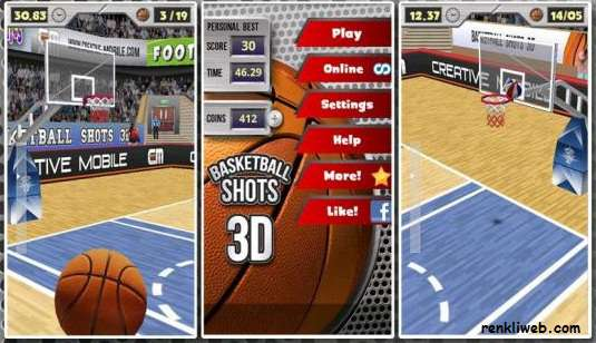 Basketball-Shots-3D-android