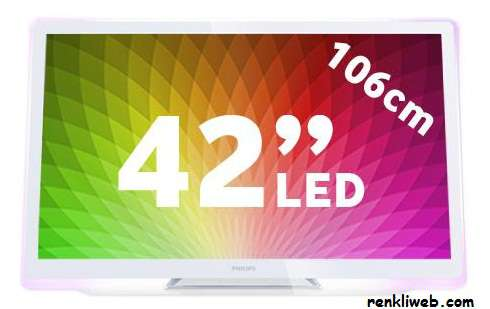 Philips 42'''' Full Hd Led Televizyon