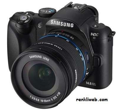 Samsung NX11 LCD SLR Dijital Fotoğraf Makinesi