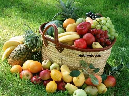 meyve, beslenme, sağlık