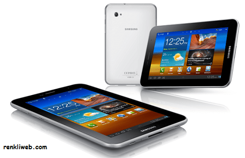 Samsung, tablet bilgisayar,  Galaxy Tab