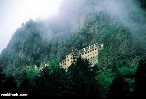 sümela manastırı, klise, tarihi eser, kültür