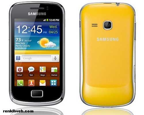 Galaxy Mini 2