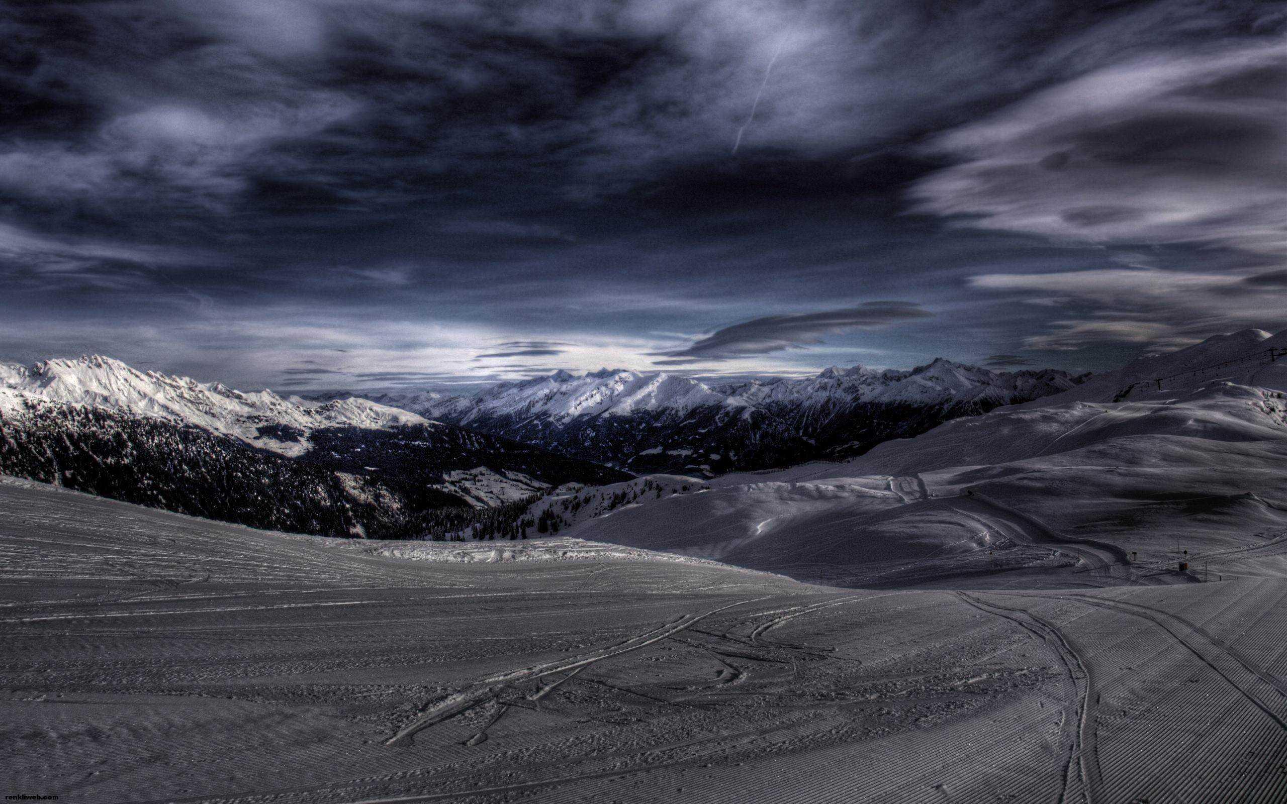 kış ve kar manzaraları 004