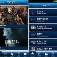 Android İçin TV İzleme Uygulaması – tvyo
