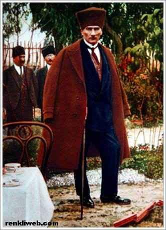 renkli Atatürk fotoğrafları 19