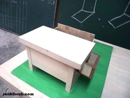 Özel tasarımlı masa icadı