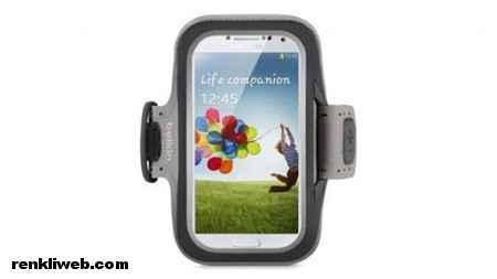 Belkin Slim-Fit Kol bandı - Galaxy S4 Kılıfı