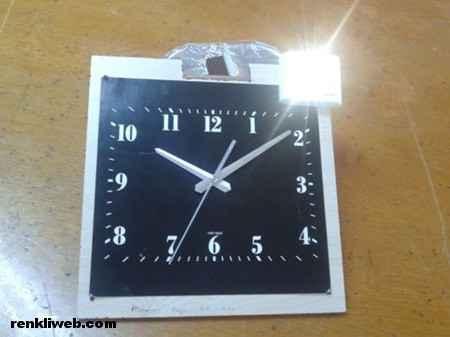 Işıklı Saat icadı