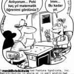 Matematik İle İlgili Karikatürler