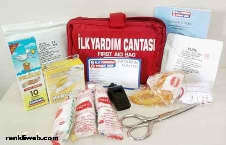 ilk yardım çantası