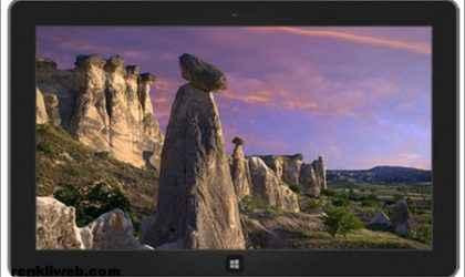 Windows 7 ve Windows 8 İçin Türkiye Doğal Güzellikleri Teması