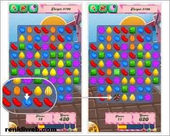 Candy Crush Saga oynama 1