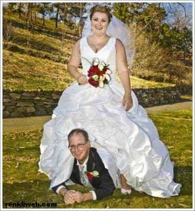 Komik Düğün Fotoğrafları 01
