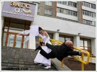 Komik Düğün Fotoğrafları 1