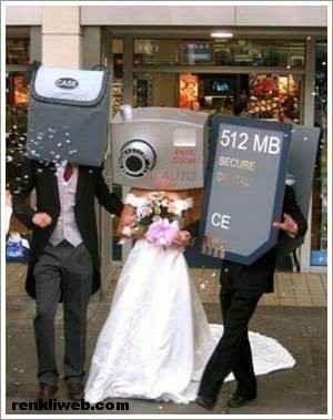 Komik Düğün Fotoğrafları 3
