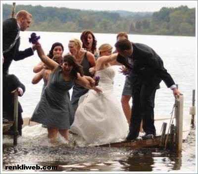 Komik Düğün Fotoğrafları 4