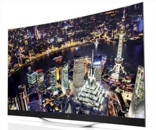 LG EC9800 Ultra HD Curved OLED TV
