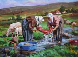 Eskiden nasıl çamaşır yıkanırdı?