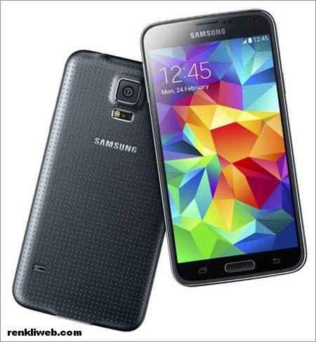 Samsung Galaxy S5 siyah