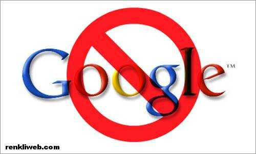 Google yasak