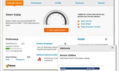 PC Hızlandırma ve Sistem Bakım Programı – Norton Utilities