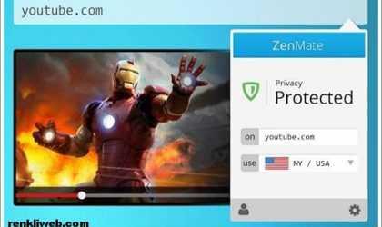 Google Chrome İçin Yasaklı Sitelere Giriş Eklentisi – ZenMate