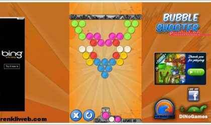 Windows 8 İçin Balon Patlatma Oyunu – Bubble Shooter Evolution