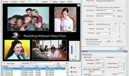 Web Kamerası Video ve Ses Kayıt Programı – Super Webcam Recorder