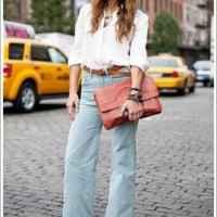 İspanyol paça pantolonun üstüne ne giyilir, kazak mı gömlek mi?