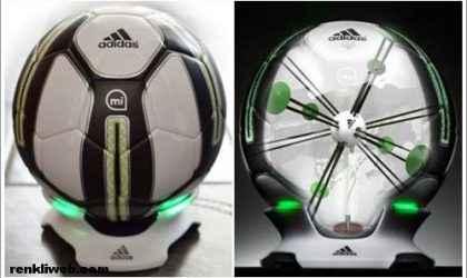 Adidas Akıllı Futbol Topu: miCoach Smart Ball