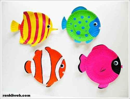 Plastik tabaktan balık