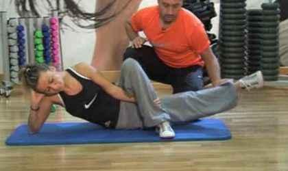 Bacağın İç Ve  Dış Kısımlarını Çalıştıran Hareketler Ve Egzersizler (Resimli Anlatım)