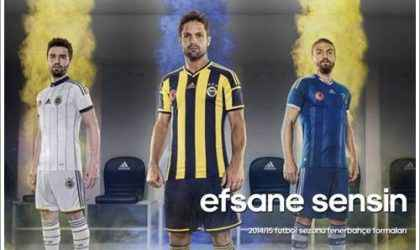 2014-2015 Sezonu Fenerbahçe Formaları