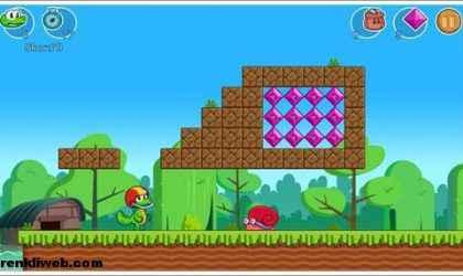 Windows 8 İçin Zıplama ve Koşma Oyunu – Croc's World