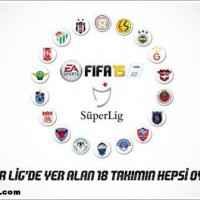 FIFA 15'de Türkiye Spor Toto Süper Ligi Olacak!